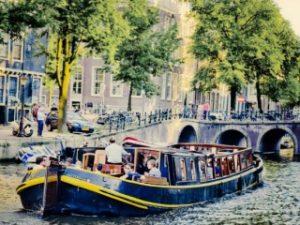 Bota Fogo Amsterdam Borrel en Varend Diner met grote groep