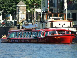 Hop on Hop Off Boat by Citysightseeing Amsterdam