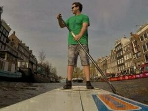 SUP Canal Tour Amsterdam