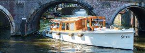 salonboot huren Amsterdam prive rondvaart