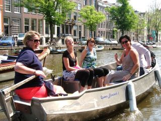 Self-drive Amsterdam Boat Rental at Boaty Boat Hire