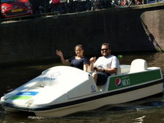 Pedal Boats by Stromma: 'Biking' on the Amsterdam Canals