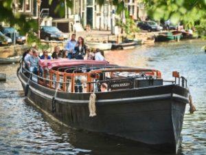Borrel en dinerboot Amsterdam Anna Maria